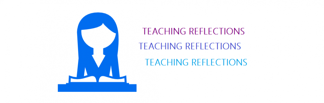 Teaching reflections about this year